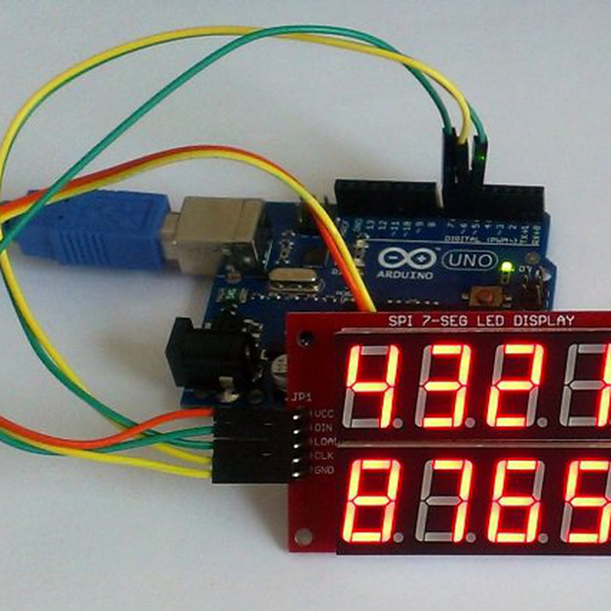 Double Row 4 Digit Seven Segment Led Display Red From Embedded Lab Arduino7segmentleddisplaycircuitpng On Tindie