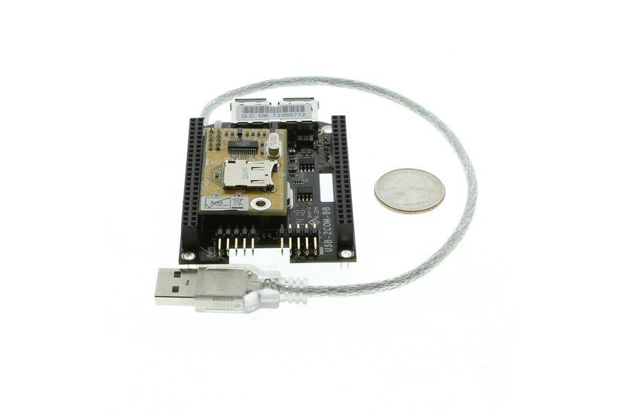 BeagleBone Black USB Expansion RS232 Module