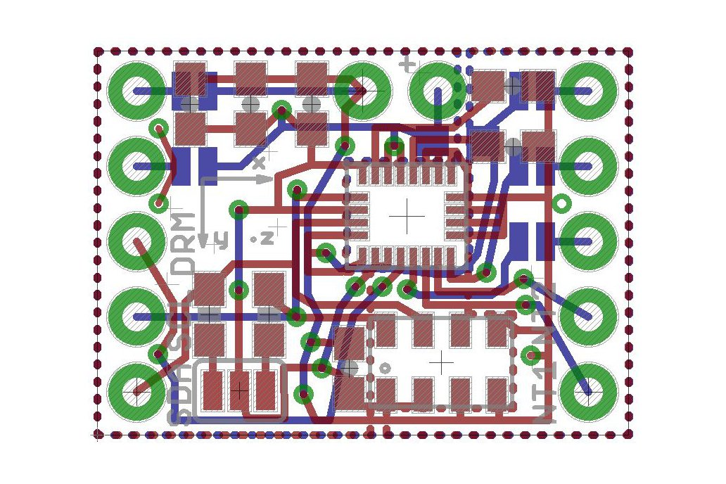 LSM9DS1+MS5611 breakout board 6