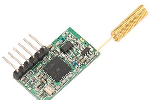 smart RF module 433MHz data transceiver TTL