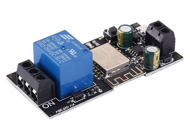 DC 12V 24V WIFI Relay Switch Module (13859)