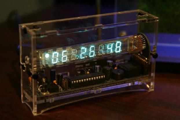 Ice Tube Clock, XMas edition