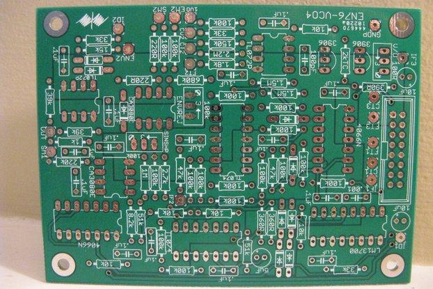ENS-76 VCO-4 Eurorack PCB