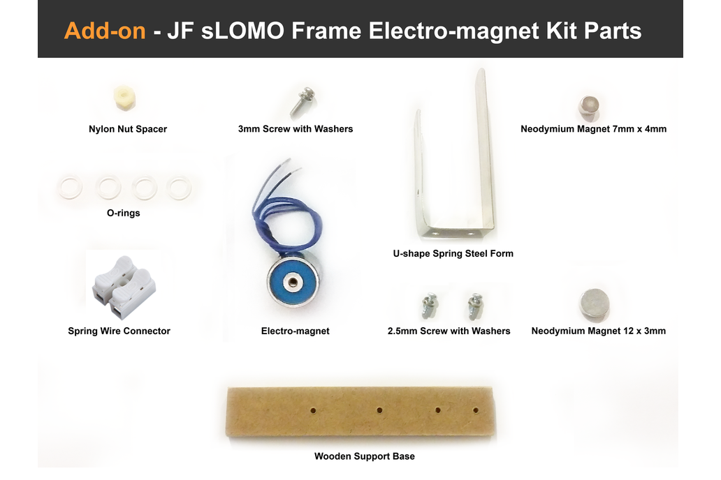 JF sLOMO (Slow Motion) Frame DIY Kit 7