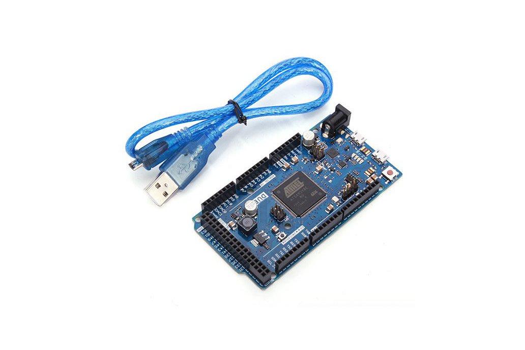 Arduino Compatible DUE R3 32 Bit ARM + USB Cable 1
