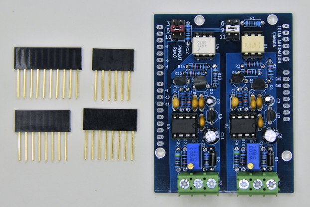Isolated PWM Analog Output for Arduino