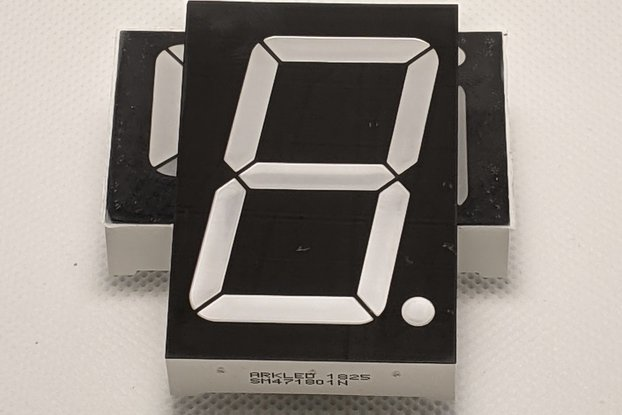 Large 7-Segment Display