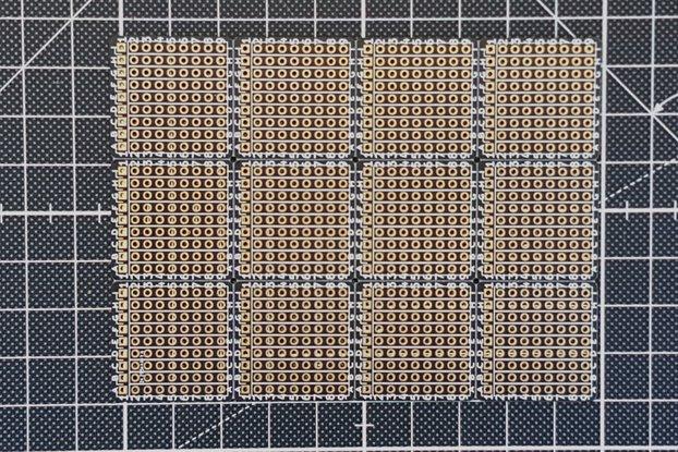 """Tiny 1""""x1"""" Through Hole Prototype Board"""