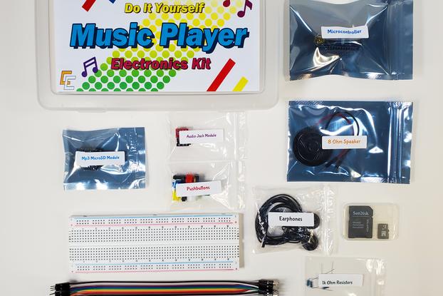 DIY Music Player Electronics Kit