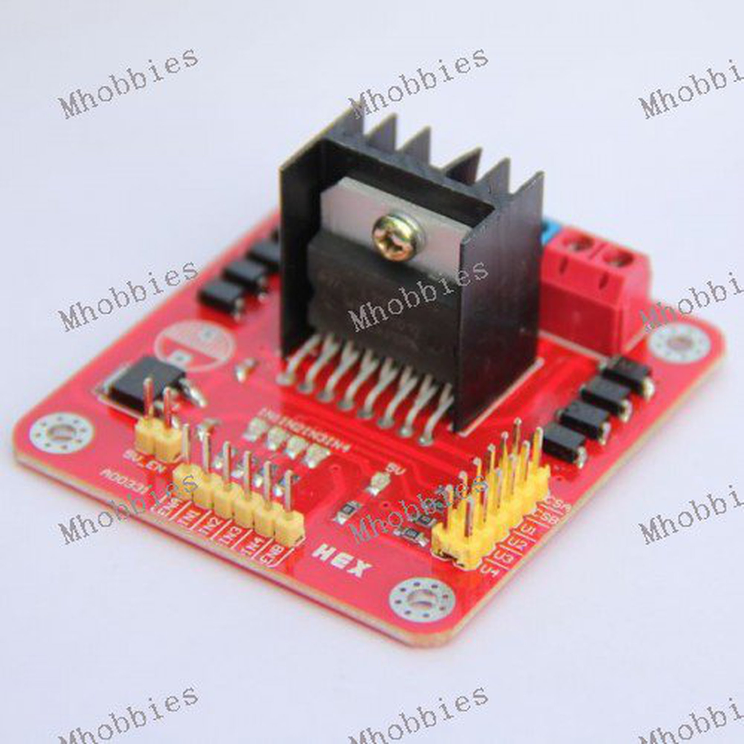 L298n Dc Motor Driver Board Stepper Control From Controller Circuit 1