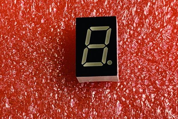 "7 Segment | Blue Ano or Red Cat 6 pcs 0.56"" 10 PIN"