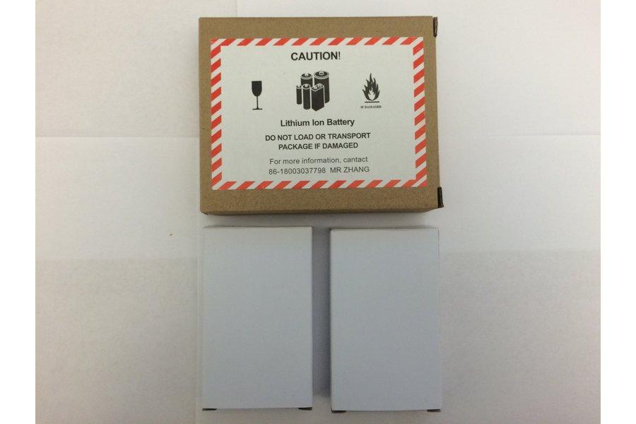 3.7V 2200 mAh Lithium Polymer Battery (2-PACK)