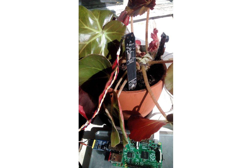 Modbus RS485 soil moisture sensor 3
