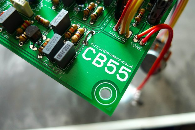 CB55 - Boss DR55 analogue drum sounds clone PCB