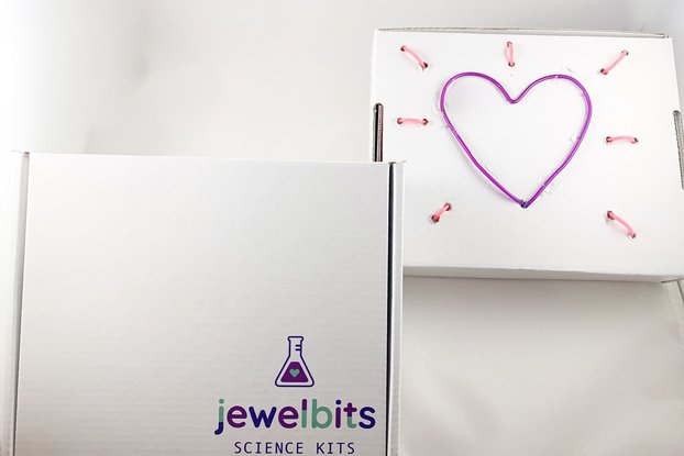 Jewelbits Science Kits - Hello World, NEON