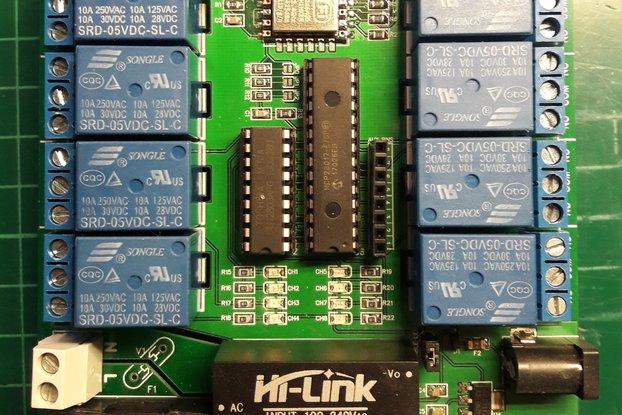 ESP8266 8-Relay module