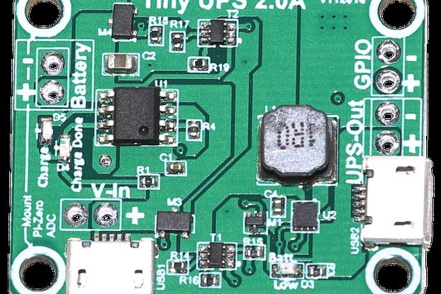 Tiny-UPS - tiny sized UPS for USB devices