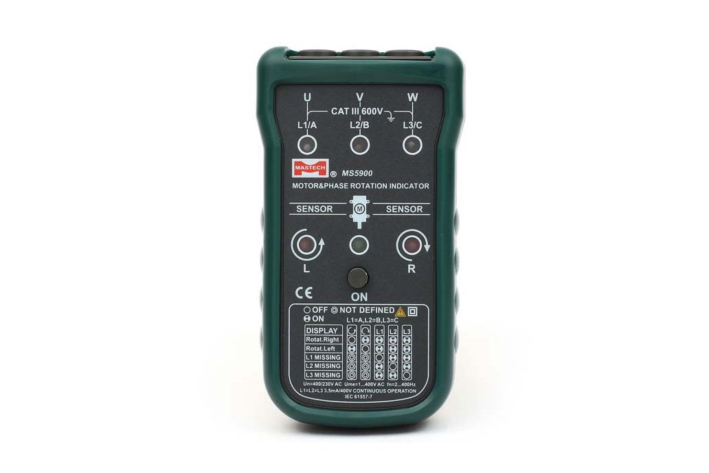 MASTECH Non-contact Motor Rotation Indicator Meter 1