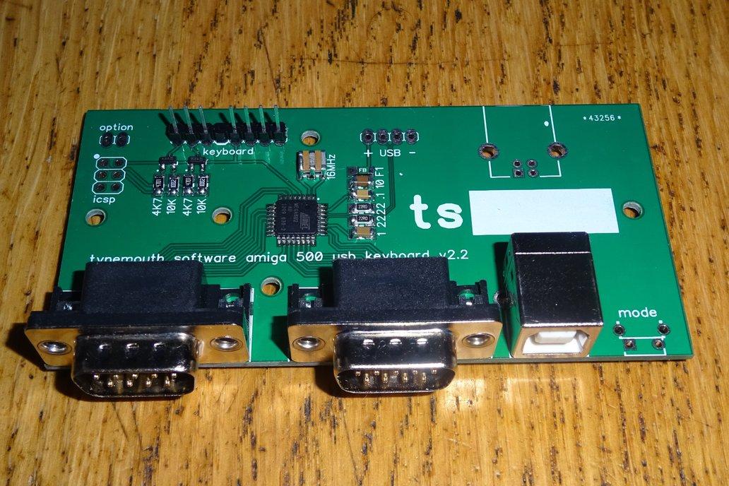 USB conversion kit for Amiga 500 keyboard 3