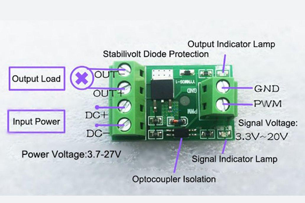 MOS Transistor Trigger PWM Control Switch(12191) 6