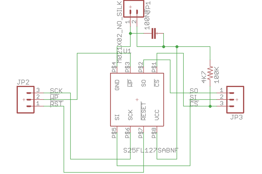 SPI Flash Memory Add-On for Ladybug or Butterfly
