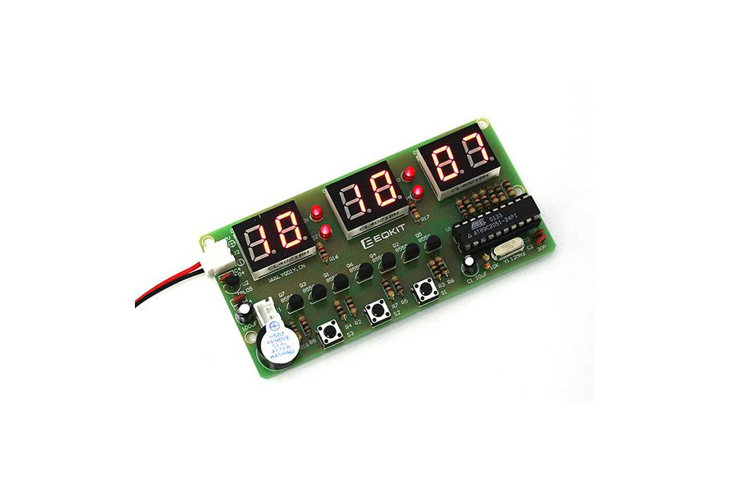 C51 Electronic Clock Suite DIY Kits(2042) 1