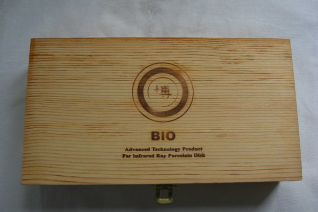 Wooden box with catch