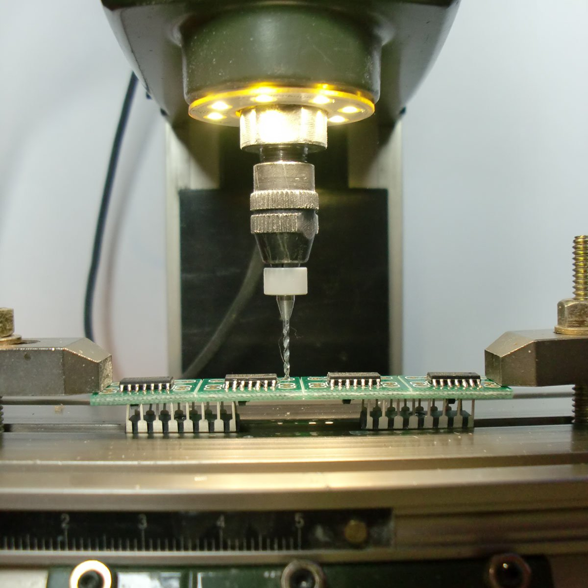 LumenFix 70 - Smart light for Proxxon MF70 from SMDKing on Tindie