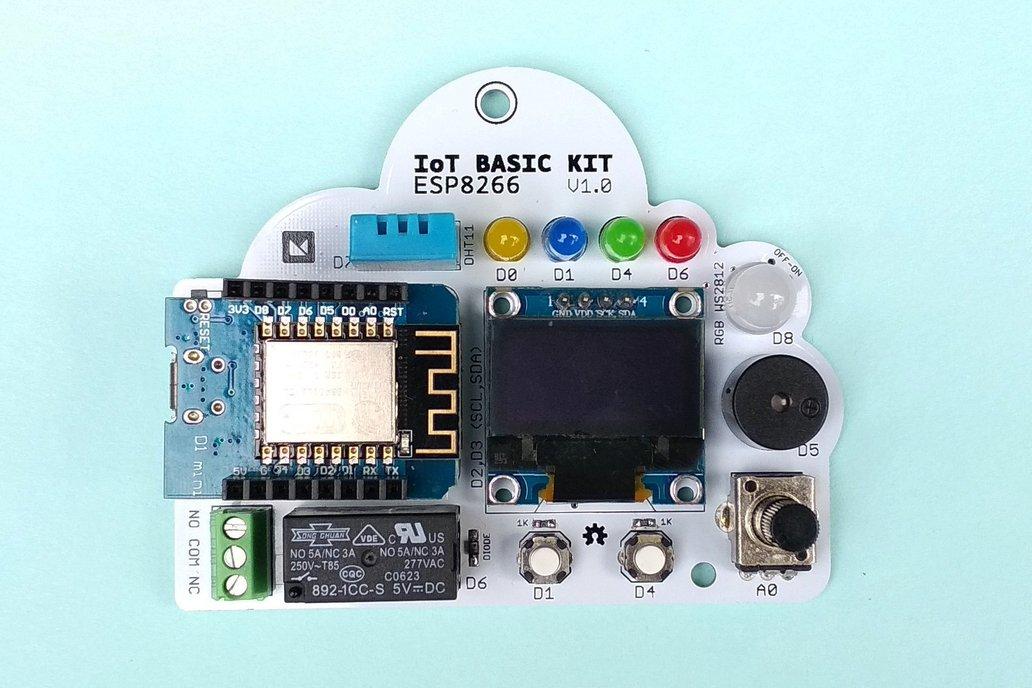 Starter Basic Kit IoT - ESP8266 1