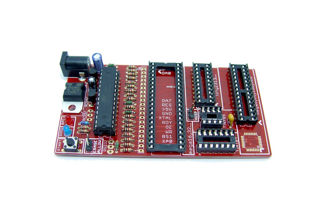 Bare PCB AVR fuse bit doctor HVPP  HVSP fix repair 1