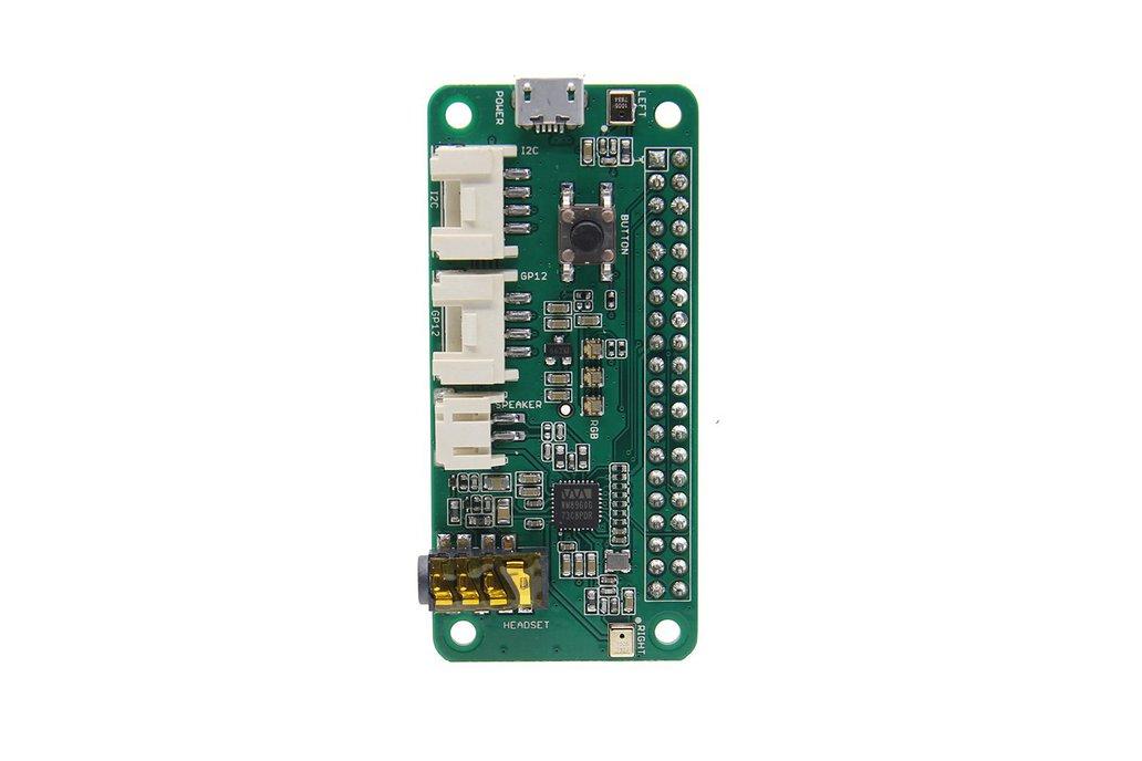 ReSpeaker 2-Mic  Pi HAT Speaker Expansion Board 1