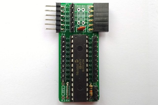 SC403 I2C Digital I/O Module Kit (MCP23018)
