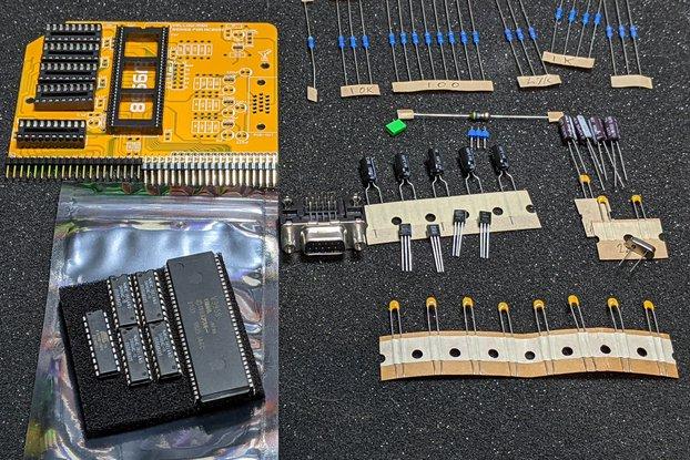 V9958 MSX RGB Video Module for RC2014