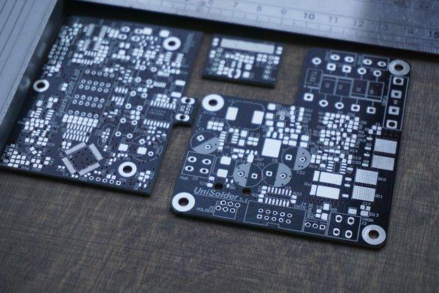 UniSolder 5.2 PCBs set with sensor