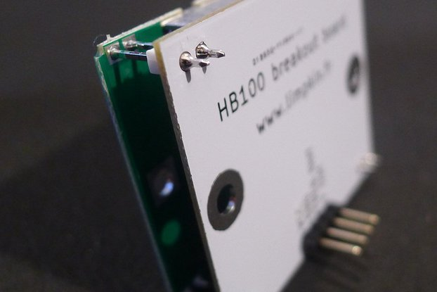 HB100 Doppler Speed Sensor - Arduino Compatible