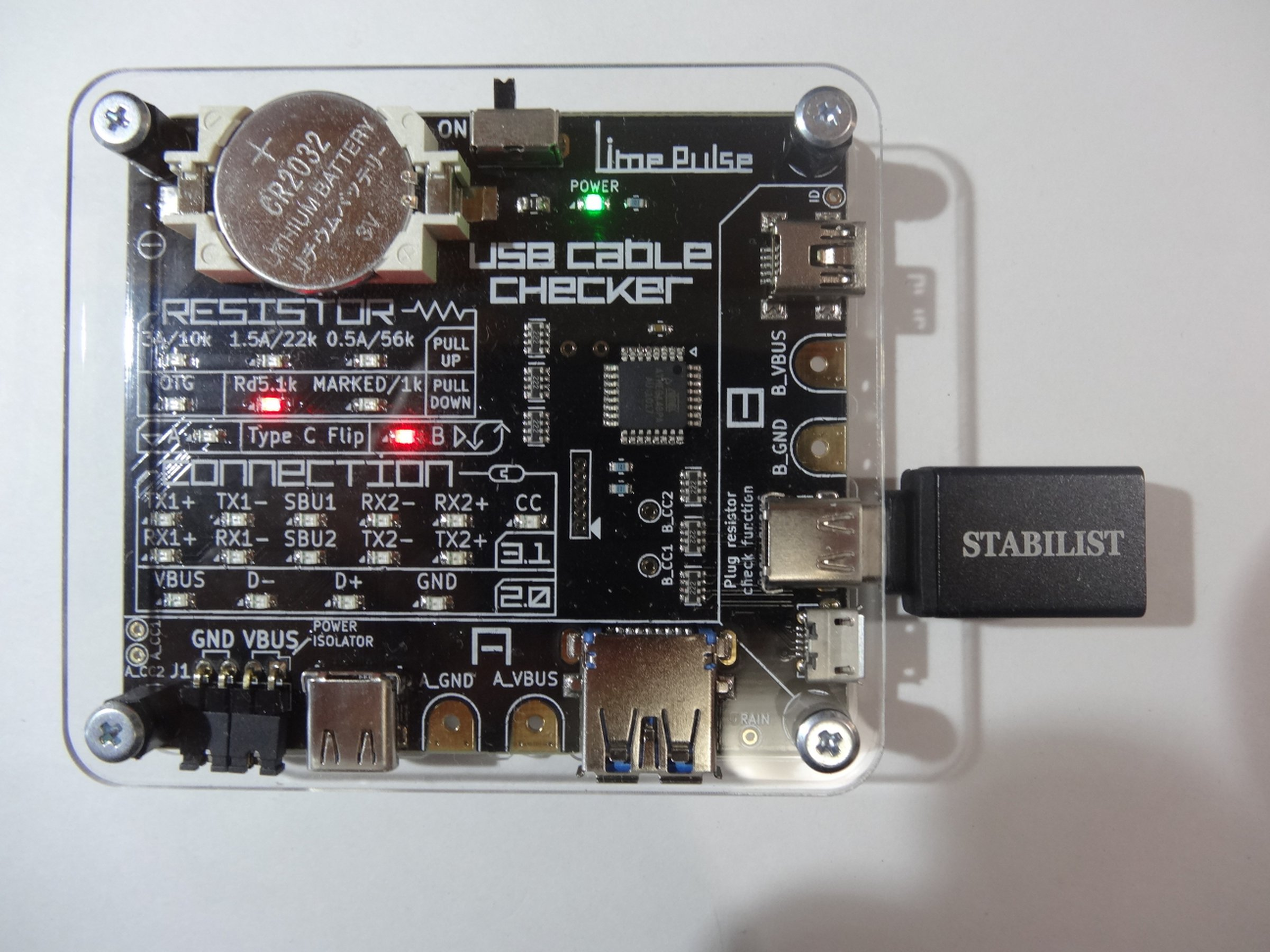 Usb Cable Checker From Limepulse On Tindie With Repeater Schematic 6