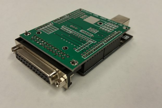 Arduino GRBL to DB25 CNC Shield Kit