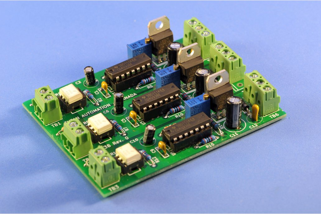 Isolated 2 or 3 channel PWM to Analog Converter 2