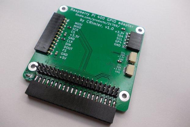 400 GPIO adapter for Raspberry Pi