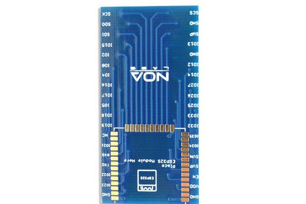 ESP32S module adapter breakout board