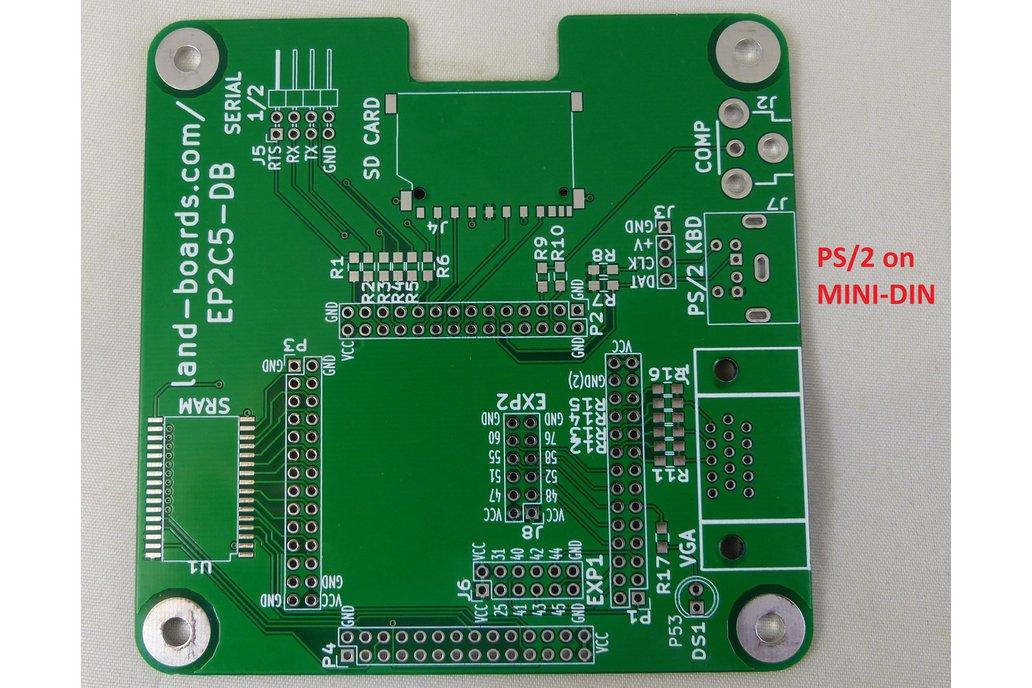 Z80, 6502, 6809, FPGA Multicomp PCB (EP2C5-DB) 1
