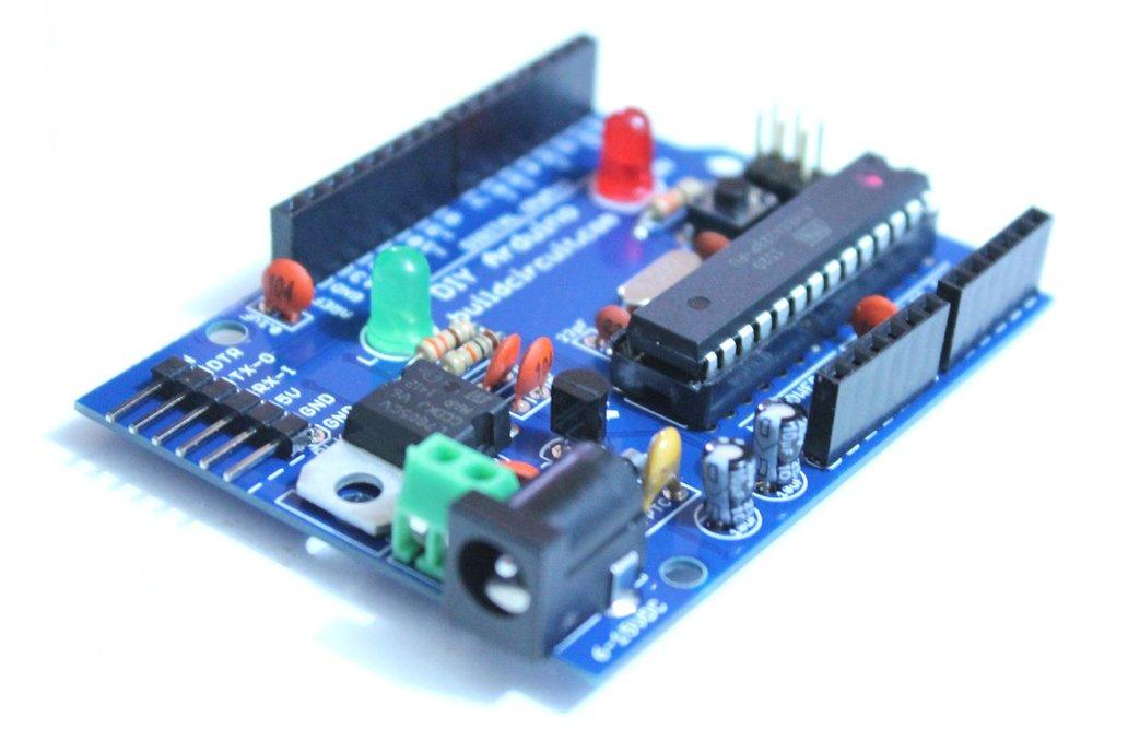 Do-it-yourself DIY Arduino- Build Your own Arduino 1