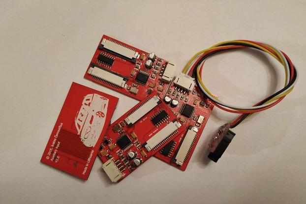 AUX input VOLVO V50, S40, C30, C70, XC90
