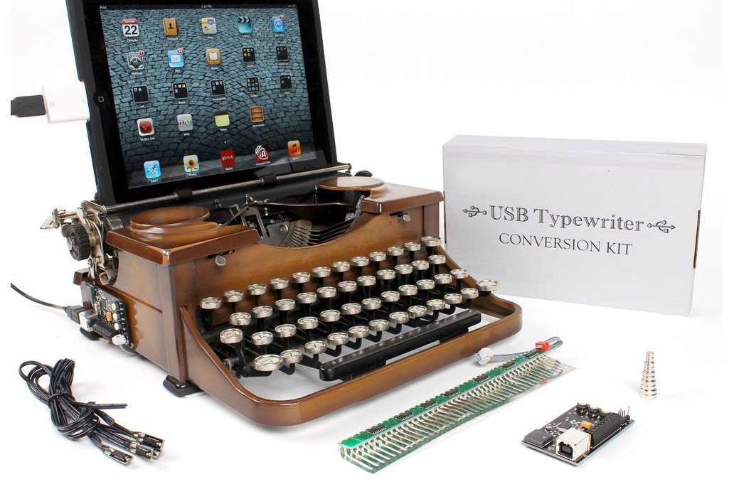 USB Typewriter Kit (Assembled) 1