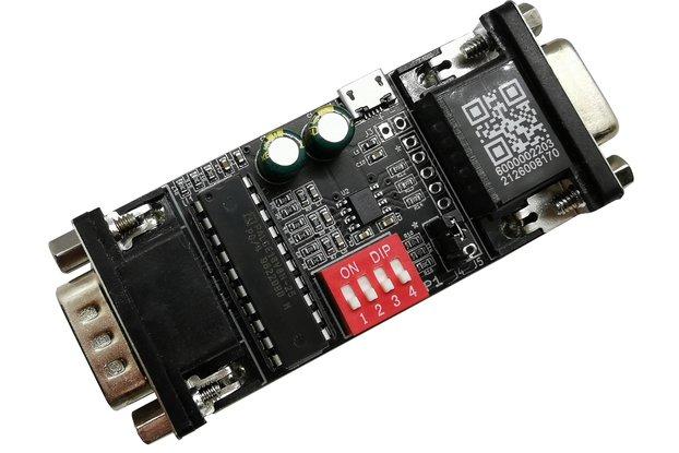 CGA2RGBv2 - Digital to Analog RGB for MDA/CGA/EGA