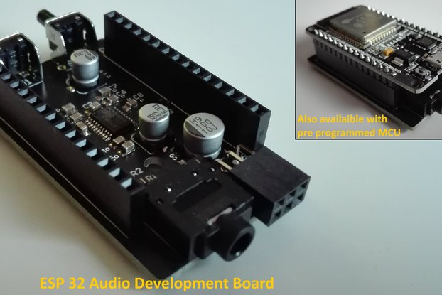 ESP 32 Audio Development Board (e.g. Bluetooth)