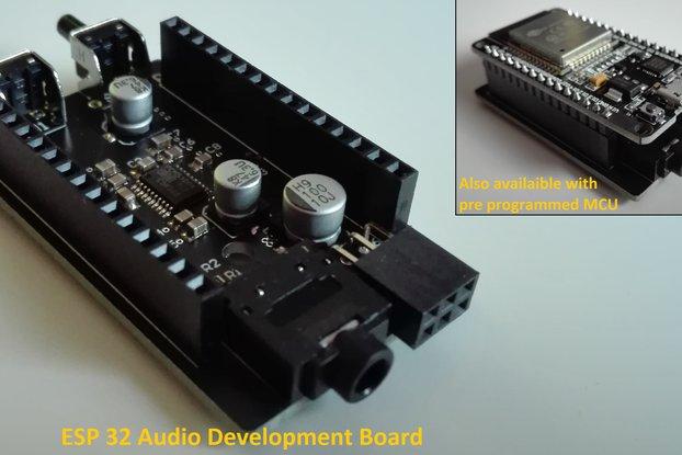 ESP 32 Audio Development Board (e.g. Bluetooth)