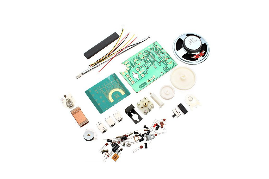 AM FM Radio Electronics Kit 3