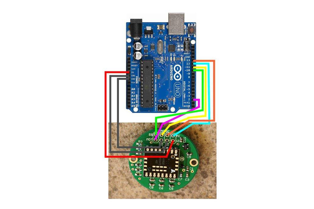 ADNS-9800 Laser Motion Sensor 5