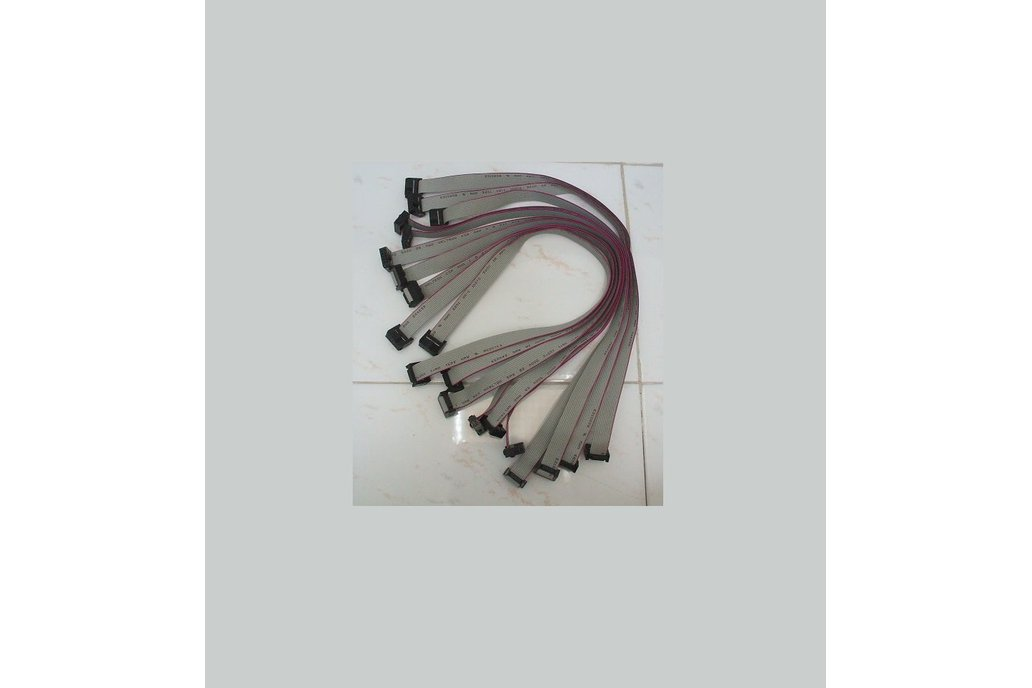 100mil 10pin 2x5 IDC flat cable 1